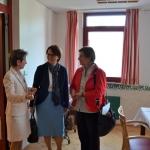 Besuch Staatssekretärin Annette Widmann-Mauz im CBT Wohnhaus Emmaus © Simon Kolter