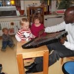 Kinderkatechese mit Kpl. Degbe