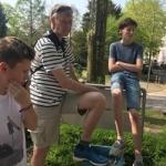 Vater-Kind-Teen-Tag April 2018
