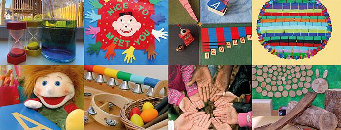 Eindrücke aus Kitas © Kindergartennetzwerk Bad Godesberg