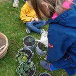 Gartenaktion Walter-Möhren-Kita 2021 © privat