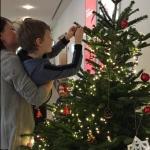 Weihnachtsbaumschmücken 2018