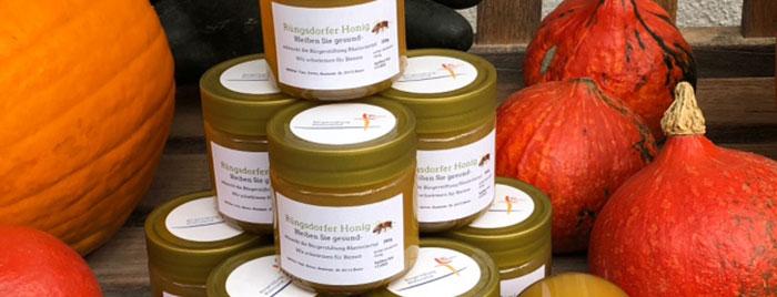 Honiggläser © privat