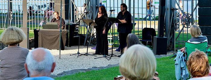 Open-Air-Benefizkonzert Romantik am Rhein